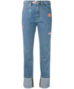 PS PAUL SMITH | Ps By Paul Smith Embroidered Patch Straight Jeans Size 27