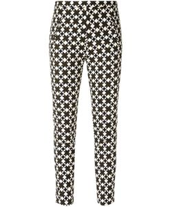 ANDREA MARQUES | All-Over Print Trousers Size 42