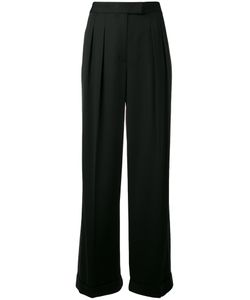 DKNY | Two-Tone Trousers 6 Viscose/Spandex/Elastane/Wool
