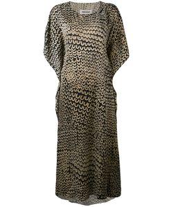 UMA WANG | Платье Шифт С Мелким Узором