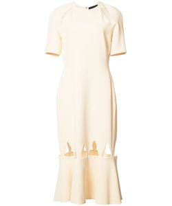 David Koma | Hem Cut Out Dress 12 Acetate/Spandex/Elastane/Viscose