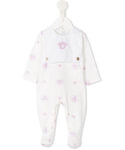 Young Versace | Medusa Embroide Pyjamas Newborn 1 Mth