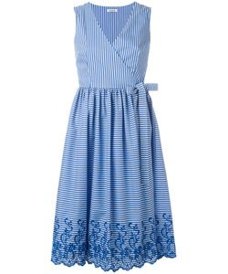 P.A.R.O.S.H. | P.A.R.O.S.H. Striped Wrap Dress Size Xs