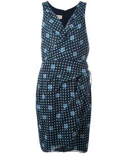 Armani Collezioni | Printed Wrap Dress 48 Polyester/Polyacrylic/Spandex/Elastane
