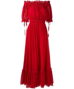 Alexander McQueen | Cold-Shoulder Maxi Dress