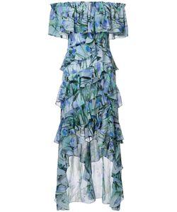 Badgley Mischka | Платье С Оборками