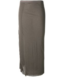Rick Owens Lilies | Fitted Midi Skirt Size 42