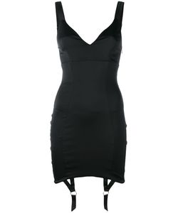 Murmur | Suspenders Applique Fitted Dress Size 38