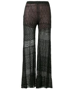 Circus Hotel | Lace Detail Flared Pants