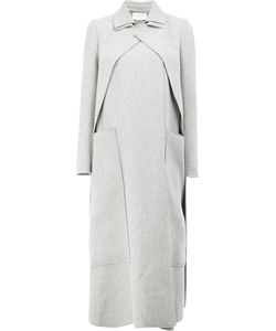 Maison Rabih Kayrouz | Concealed Fastening Double-Breasted Coat 34