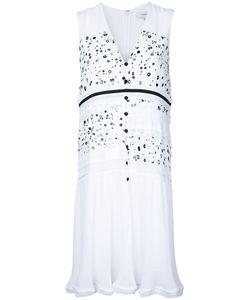 Carven | Dots Print Buttoned Dress Size 42