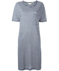 Chinti And Parker | Breton Stripe Jersey Dress Small