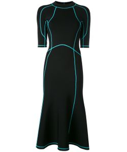 Alexander Wang | Lace-Up Scuba Dress