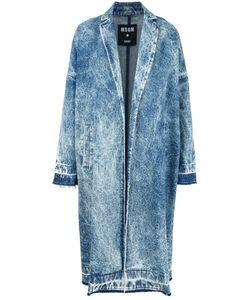 MSGM | Acid Wash Denim Coat Size 46
