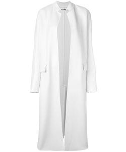 Jil Sander | Corea Open Coat 34 Cashmere/Silk/Cupro