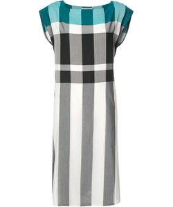 Issey Miyake | Checked Shift Dress 2 Cotton/Polyester