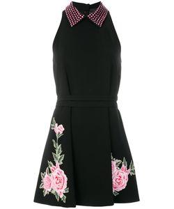 Philipp Plein | Платье С Цветочной Вышивкой