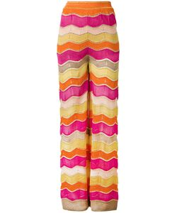 Missoni | M Zig Zag Flared Trousers Size 40