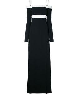 David Koma   Off-Shoulders Long Dress