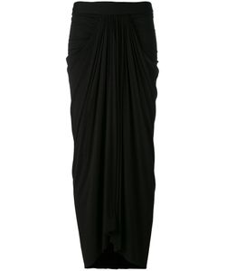 Rick Owens Lilies | Draped Long Skirt Size 40
