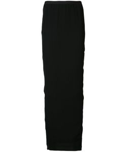Rick Owens | Soft Pillar Long Skirt 42 Cupro/Silk