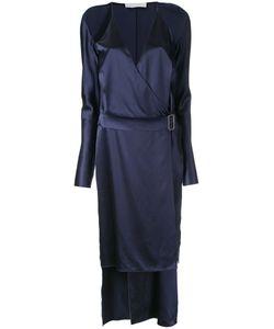 Dion Lee | Contour Tie Dress 8 Silk