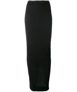 Rick Owens Lilies | Jersey Long Asymmetric Skirt Size 40