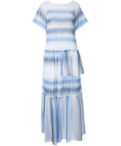 Lemlem | Striped Long Dress Small Cotton