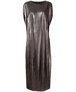 Unconditional | Платье Шифт С Отделкой Металлик
