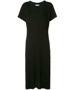 ANINE BING | V Neck Dress Xs Silk/Spandex/Elastane