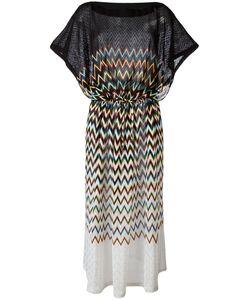 Missoni | Zig-Zag Pattern Drawstring Dress Size 46