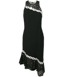 Jonathan Simkhai   Embroide Racer-Back Dress 4 Spandex/Elastane/Acetate/Viscose/Polyester