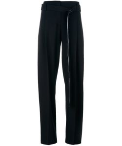 Cedric Charlier | Cédric Charlier Side Panel Trousers 40 Virgin Wool/Rayon/Cotton