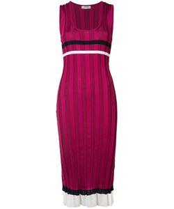 Nina Ricci | Ribbed Striped Dress