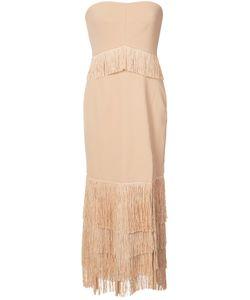 Jonathan Simkhai   Lace Strapless Dress Size 4
