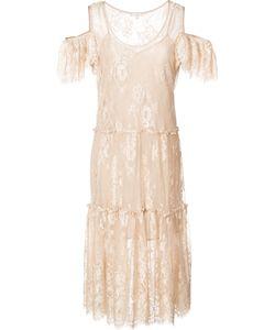Gold Hawk | Cold Shoulder Dress