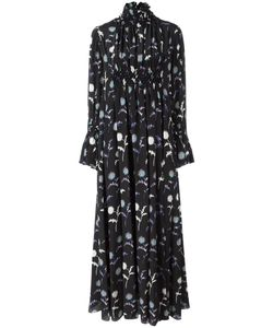 Kenzo   Расклешенное Длинное Платье Dandelion