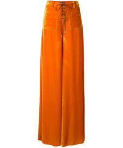 Roberto Cavalli | Velvet Wide-Leg Trousers