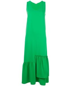 P.A.R.O.S.H. | Asymmetric Draped Maxi Dress Medium Polyester