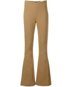 A.W.A.K.E.   . Flared Trousers With Slit Women