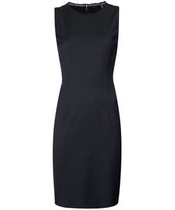 Elie Tahari | Sleeveless Fitted Dress 8 Polyester/Spandex/Elastane/Wool