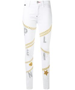 Philipp Plein | Chain Detail Skinny Jeans