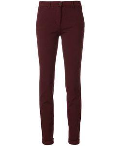 VIA MASINI 80 | Skinny Chino Trousers Women