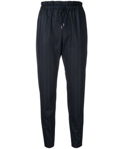 ASTRAET | Pinstripe Cropped Trousers 2 Polyester