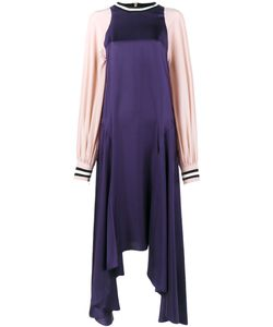 ROKSANDA   Asymmetric Hem Maxi Dress 12 Silk