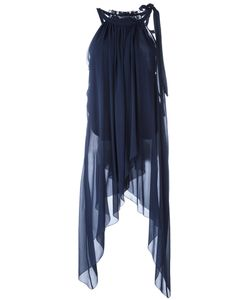 Alberta Ferretti | Tie Tank 40 Silk/Acetate/Other Fibers