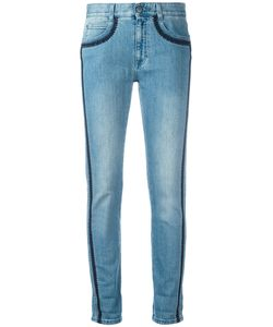 Stella Mccartney | Embroidered Trim Jeans