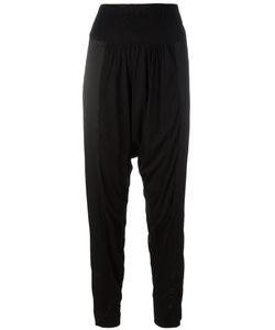Tsumori Chisato | Drop Crotch Trousers Small Cupro/Lyocell/Silk