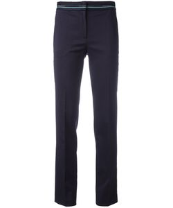 Versace Collection | Cropped Pants 40 Spandex/Elastane/Wool