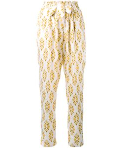 Forte Forte | Diamante Jacquard Straight Trousers